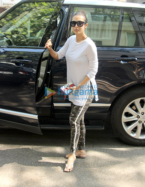 Malaika Arora spotted at a clinic
