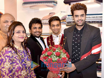 Maniesh Paul graces the launch of first flagship store of Sandesh Navlakha