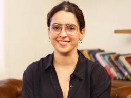 "One Common thing between Ayushmann and Aamir Khan is…""Sanya Malhotra Talking Films"