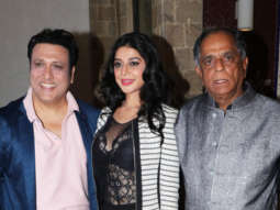 Press Conference on the Censor Board's CUT for Govinda's film Rangeela Raja Part 2
