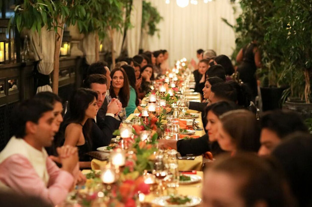Priyanka Chopra hosts a dinner gala celebrating the launch of the Bumble app in India