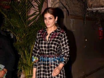Raveena Tandon snapped in Mumbai