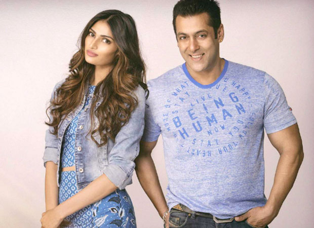 Salman Khan takes charge of Suniel Shetty's daughter
