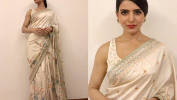 Samantha Akkineni in Anita Dongre for an event (Featured)