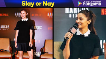 Slay or Nay - Alia Bhatt in Red Valentino for Narcos Mexico x Netflix event (Featured)