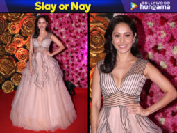 Slay or Nay - Nushrat Bharucha in Dolly J Studio for Lux Gold Rose Awards 2018 (Featured)