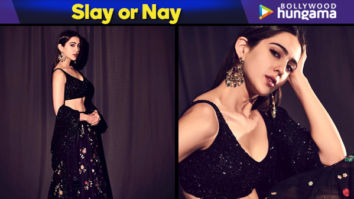 Slay or Nay - Sara Ali Khan in Sabyasachi promoting Kedarnath on Indian Idol 10 (Featured)