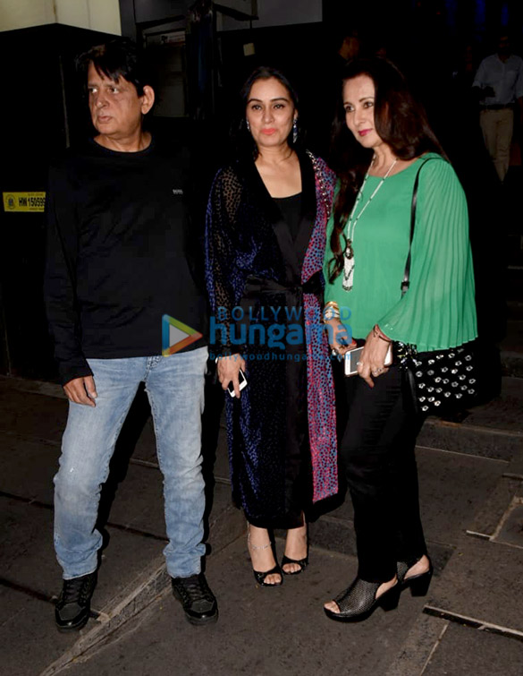 Sonal Chauhan and Anupam Kher spotted at Yauatcha in BKC (4)