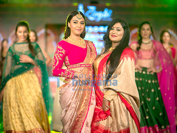Swara Bhaskar walk the ramp for Arpitha Randeep's at Mysore Fashion Week Season 5