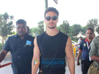 Tiger Shroff and Salman Khan and others snapped at the airport