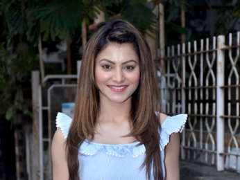 Urvashi Rautela spotted at Tip & Toe in Juhu