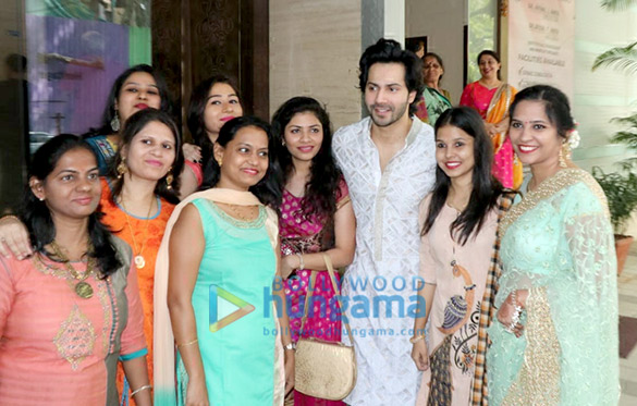 Varun Dhawan and family snapped after Diwali 2018 puja