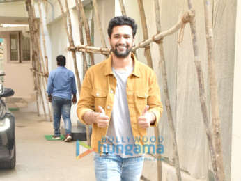 Vicky Kaushal spotted at Sunny Super Sound in Juhu
