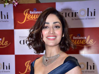 Yami Gautam and Isabelle Kaif snapped at a Jewellery event in Andheri