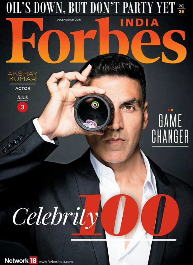 Forbes India Top 100 Celebrities with Earnings: 2014 - 2015