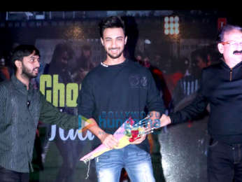 Aayush Sharma spotted at NMK College, Bandra