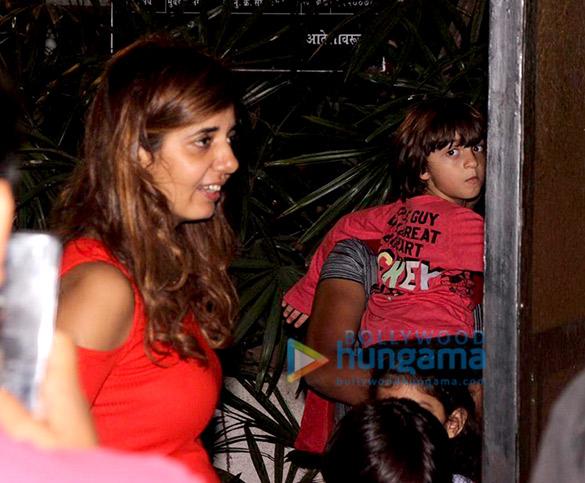 AbRam Khan snapped in Mumbai (2)