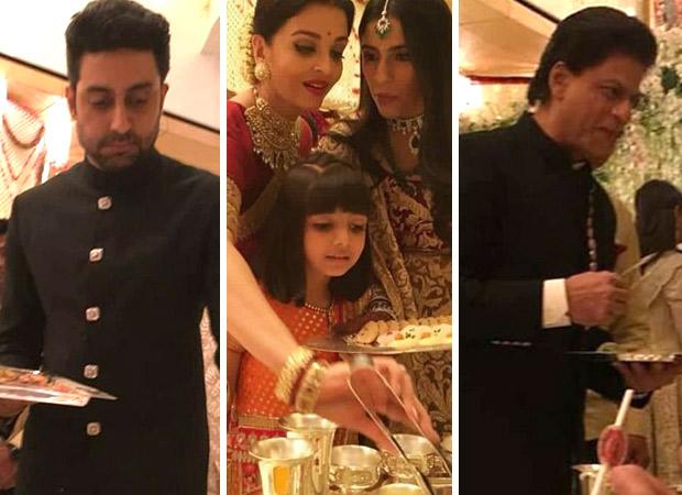 Abhishek Bachchan EXPLAINS why he was serving food with Aishwarya Rai Bachchan, Amitabh Bachchan, Aamir Khan at the Ambani wedding
