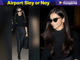 Airport Slay or Nay - Deepika Padukone in All Saints (Featured)