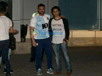 Aishwarya Rai Bachchan, Varun Dhawan, Abhishek Bachchan and others snapped at the airport