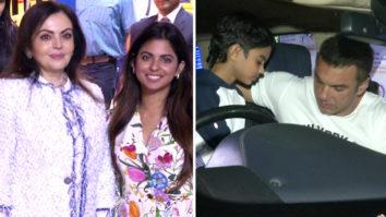 Ambani Family, Sohail Khan and others Spotted at Dhirubhai Ambani International School