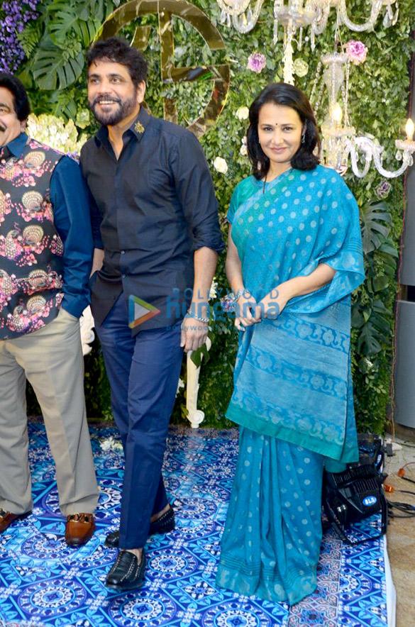 Celebs grace Saina Nehwal's wedding reception2 (1)