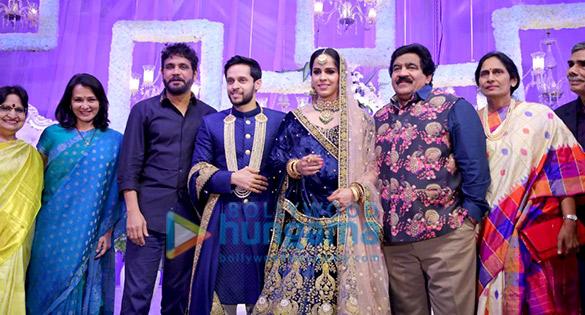 Celebs grace Saina Nehwal's wedding reception2 (2)