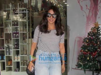 Chitrangda Singh spotted at a salon