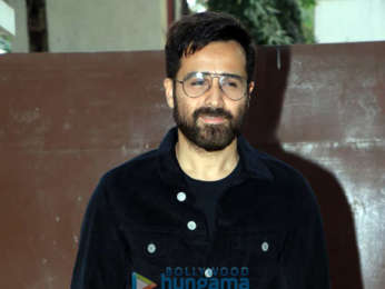 Emraan Hashmi snapped at T-Series office after Cheat India trailer launch