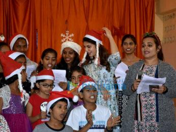 Jacqueline Fernandez celebrates Christmas with kids at an orphanage