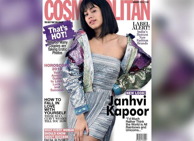 Janhvi Kapoor for Cosmpolitan January 2019