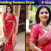 Kajol in Devnaagri for a wedding (7)
