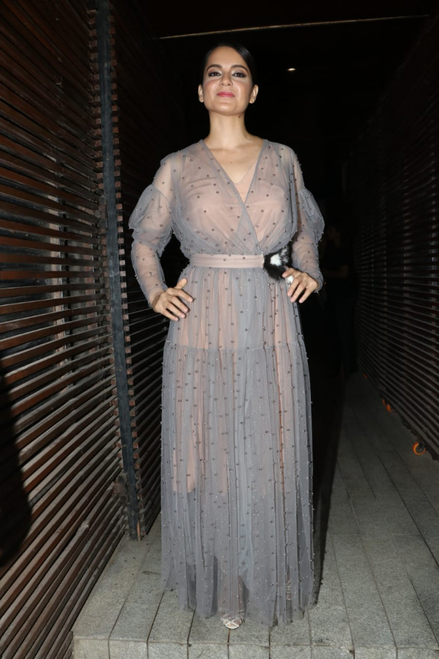 Kangana Ranaut in Alena Akhmadullina for Ankita Lokhande's birthday bash (1) (1)