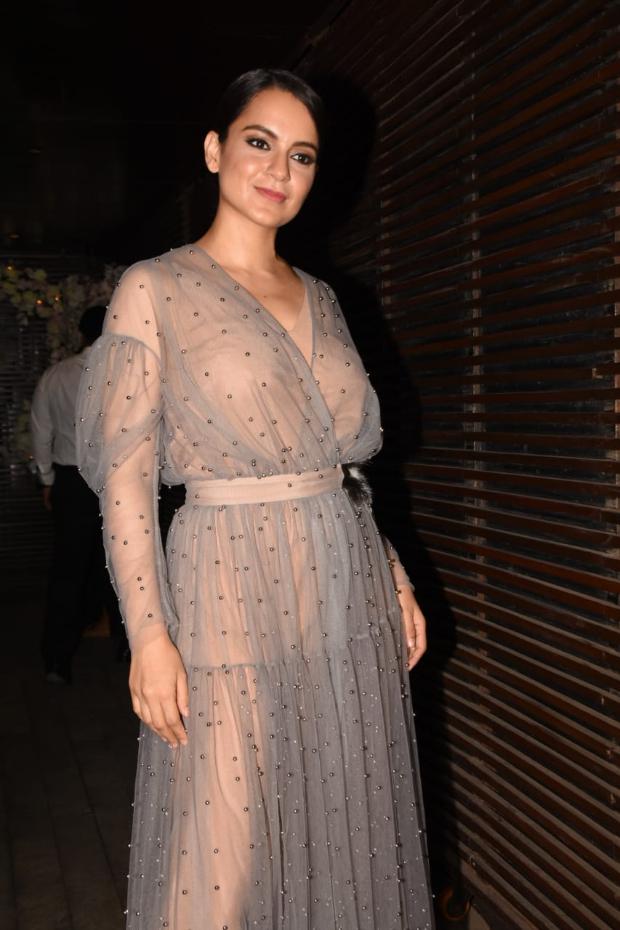 Kangana Ranaut in Alena Akhmadullina for Ankita Lokhande's birthday bash (4)