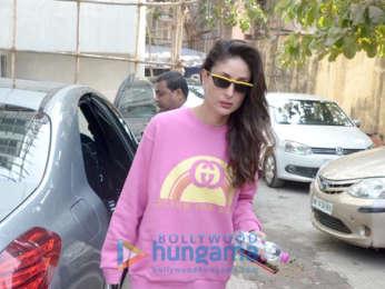 Kareena Kapoor Khan spotted outside the gym in Bandra
