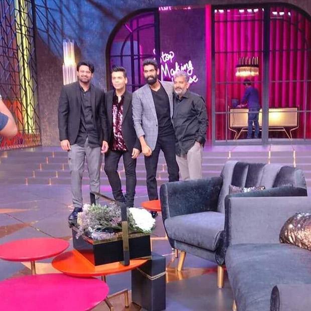Koffee With Karan 6: Baahubali trio Prabhas, Rana Daggubati and SS Rajamouli finally grace Karan Johar's show
