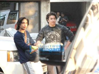 Malaika Arora, Amrita Arora and others snapped post Salman Khan's pre-birthday bash at his residence