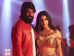 Mouni Roy and KGF actor Yash Shooting a song for KGF Chapter 1