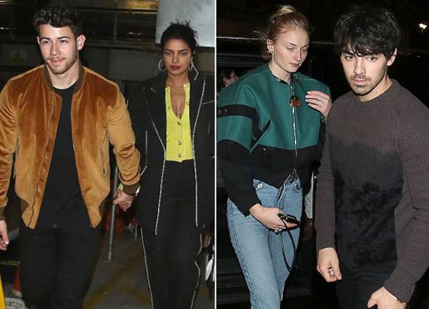 Priyanka Chopra and hubby Nick Jonas enjoy Christmas holidays with Joe Jonas and Sophie Turner in London