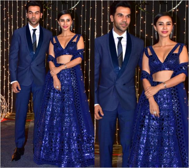 Rajkummar Rao and Patralekhaa at Priyanka Chopra - Nick Jonas Wedding Reception