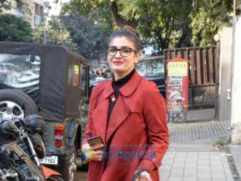 Raveena Tandon snapped in Bandra