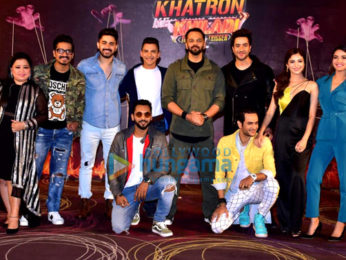 Rohit Shetty, Vikas Gupta, Jasmine Bhasin, Aditya Narayan and others snapped at Khatron Ke Khiladi press meet