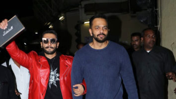 SPOTTED Ranveer Singh and Rohit Shetty at PVR ICON for Public Response