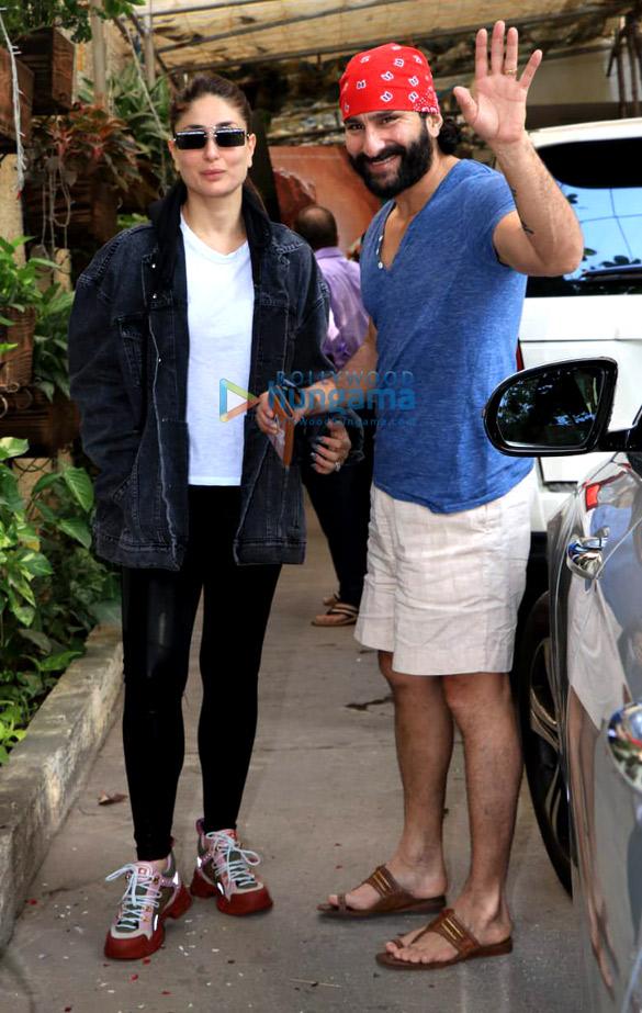 Saif Ali Khan and Kareena Kapoor Khan snapped at Sunny Super Sound in Juhu