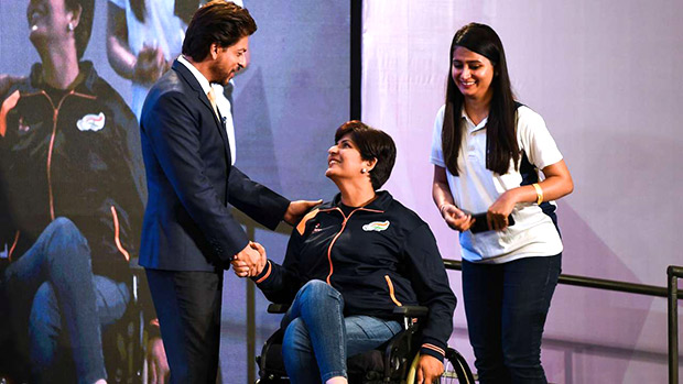 Shah Rukh Khan's Meer Foundation donates wheelchairs to para athletes on International Day of Persons with Disabilities