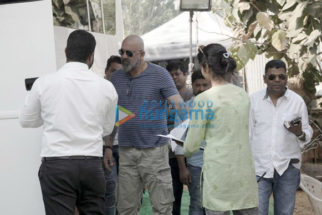 On The Sets Of The Movie Shamshera