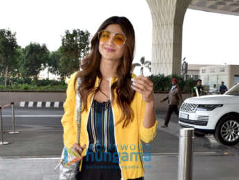 Shilpa Shetty, Tina Ahuja and others snapped at the airport
