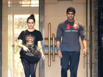 Shraddha Kapoor snapped outside the gym