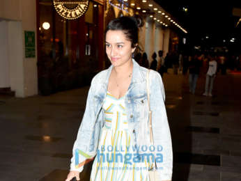 Shraddha Kapoor spotted at Lower Parel