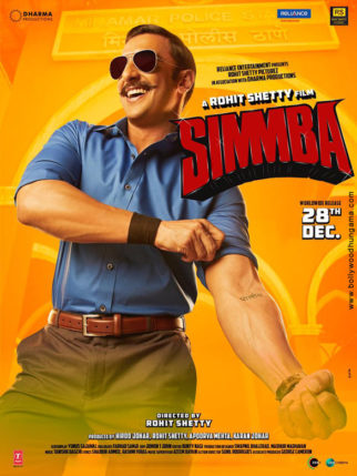 First Look Of Movie Simmba